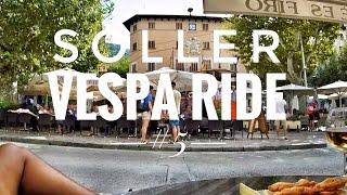 Vespa T5 Ride #5   Sóller   Mallorca   GoPro