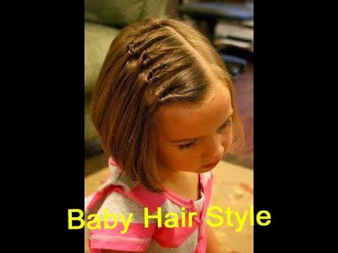 Baby hair style / Toddler Hairstyle Tutorial / Easy Hairstyles / Hair tutorial for Little Girls-