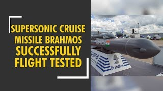 India successfully flight-tests supersonic cruise missile BrahMos