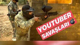 PAINTBALL SAVAŞI | YOUTUBERLAR YARIŞIYOR