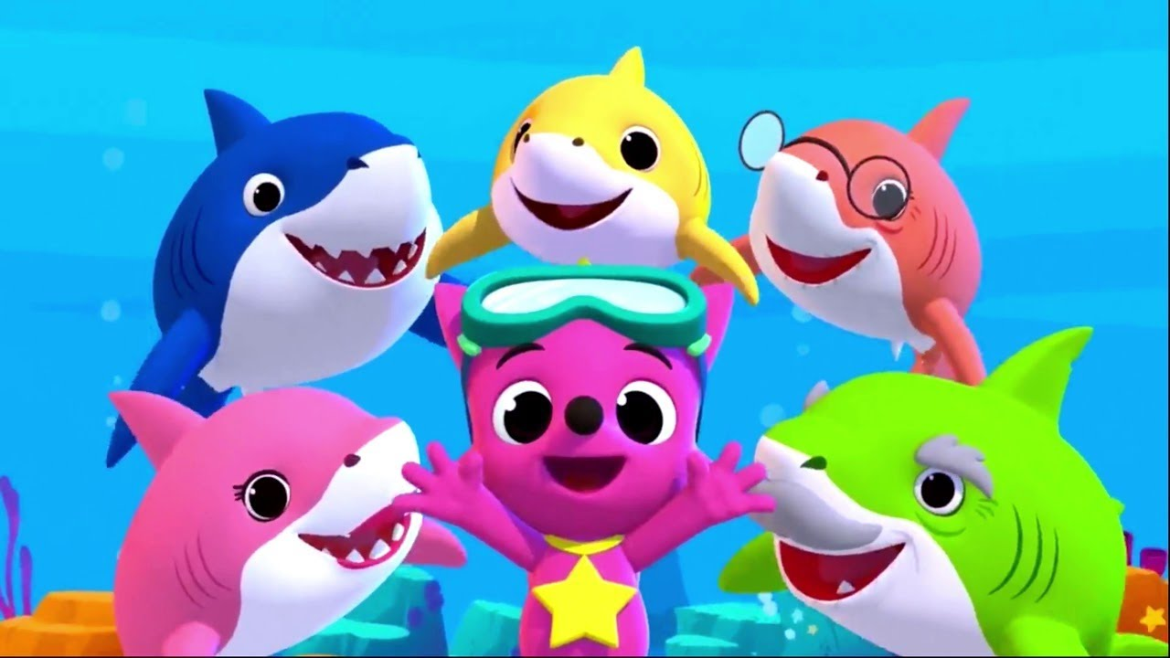 Baby Shark Featuring Finny The Shark More Kids Songs