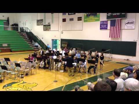 Northside Middle School Band Roanoke, Virginia Plays 'Oye Como Va'