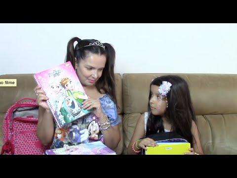 MEU MATERIAL ESCOLAR - EU SOU RICA OU POBRE  3 - YouTube c28f1fa789