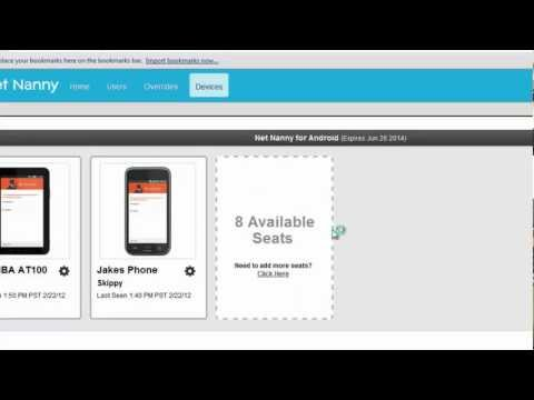 Net Nanny For Android: Device Management
