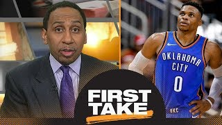 Stephen A.: Russell Westbrook 'should be ticked off' | First Take | ESPN