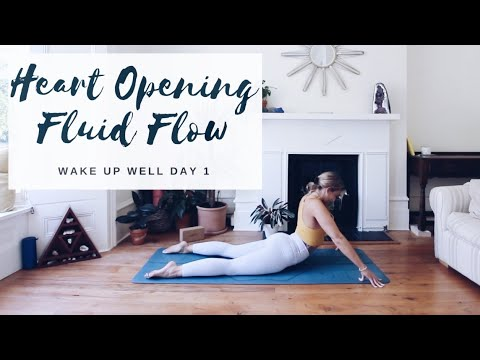 HEART OPENING YOGA | Wake Up Well Day 1 | CAT MEFFAN