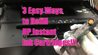 3 Easy Hacks for HP Instant Ink Cartridge 902 934 935 564 920 Freedom to Refill Reset Video 1