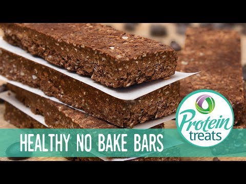 Chocolate Mocha Energy Protein Bar Recipe (Sugar-Free & High Protein) - Protein Treats By Nutracelle