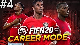 Anthony Martial Scores A Beautiful Goal  FIFA 20 Manchester United Career Mode EP4
