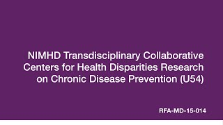 TCC For Health Disparities Research On Chronic Disease (U54)