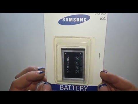 Аккумулятор Samsung X200 High Copy