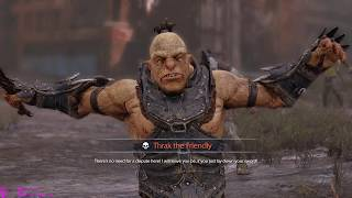 Middle-Earth: Shadow of Mordor - Stronghold Random Gameplay (PC)