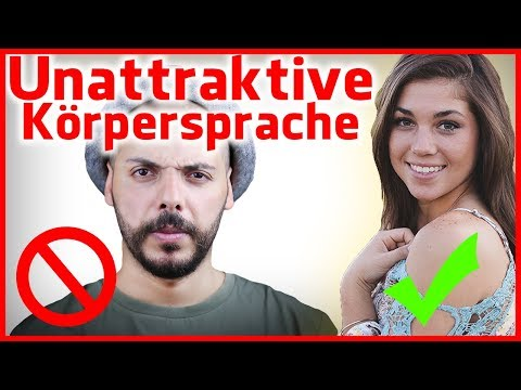 Korpersprache flirten der manner