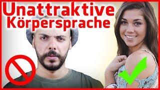 5 fatale Körpersprache-Fehler, die dich sofort unattraktiv machen