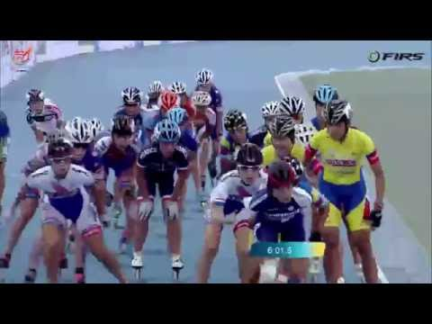 2016 World Roller Speed Skating Championships Junior Women 15Km Elim Final