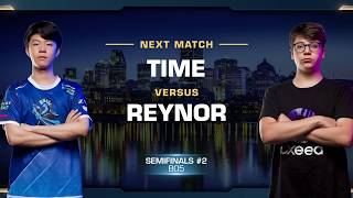 TIME vs Reynor TvZ - Semifinals - WCS Montreal 2018 - StarCraft II