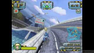 Crazy Frog Racer 2   PC Gameplay 1080P