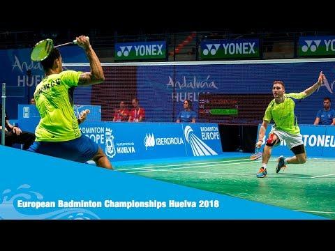 Highlights Day 1. European Badminton Championship Huelva 2018
