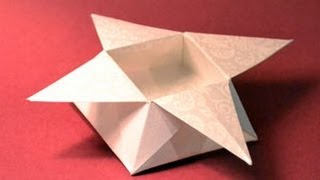 Origami Star Box Instructions: www.Origami-Fun.com