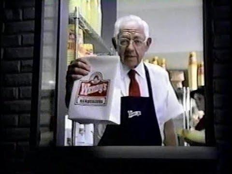 Wendys 99 Cent Value Menu 2000s Commercial 2001