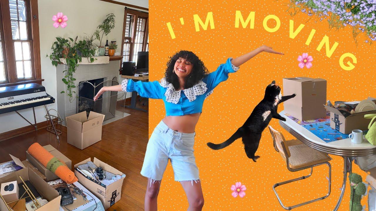 empty house tour + moving vlog 🏠✨💓