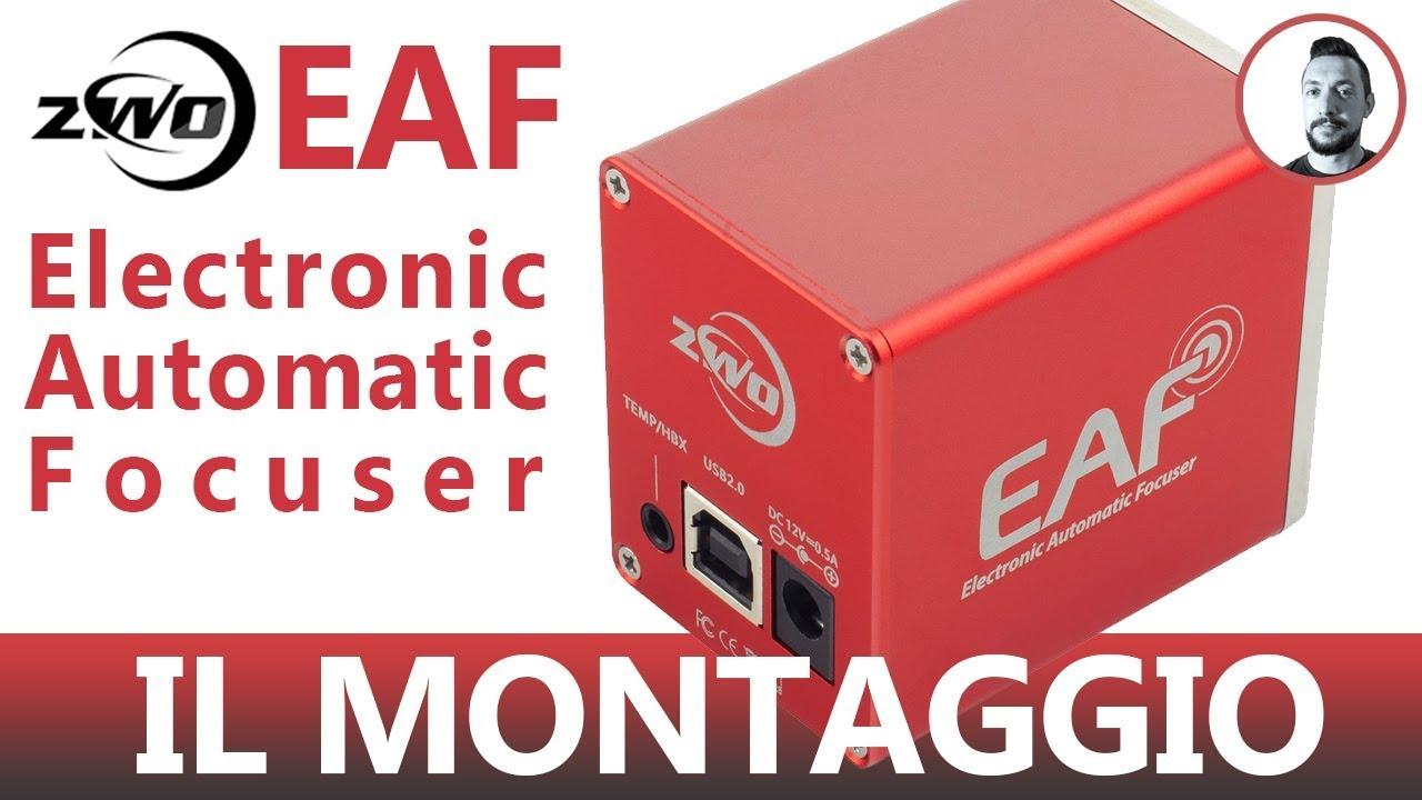 ZWO EAF Electronic Automatic Focuser   Il Montaggio