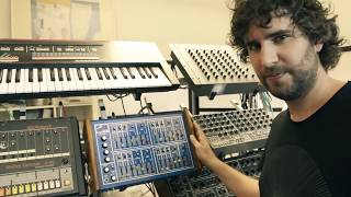 Mathew Jonson - Studio Tour