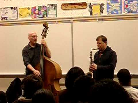 Scott Colley & Chris Potter duo at HS clinic