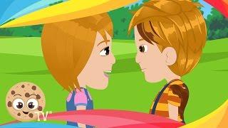 Georgie Porgie | Popular Nursery Rhymes And Kids Songs With Lyrics For Children