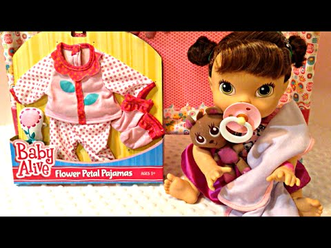 Baby Alive Clothes At Toys R Us Simple Baby Alive Flower Petal Pajamas From Toys R Us On My Baby All Gone