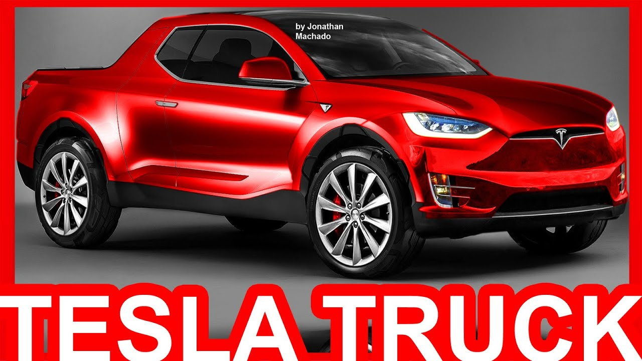 Photoshop New 2018 Tesla Pickup Truck Ev Tesla Youtube