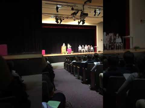 Laura Murphy - East Greenwich High School 2018 NHS Induction Ceremony Speech