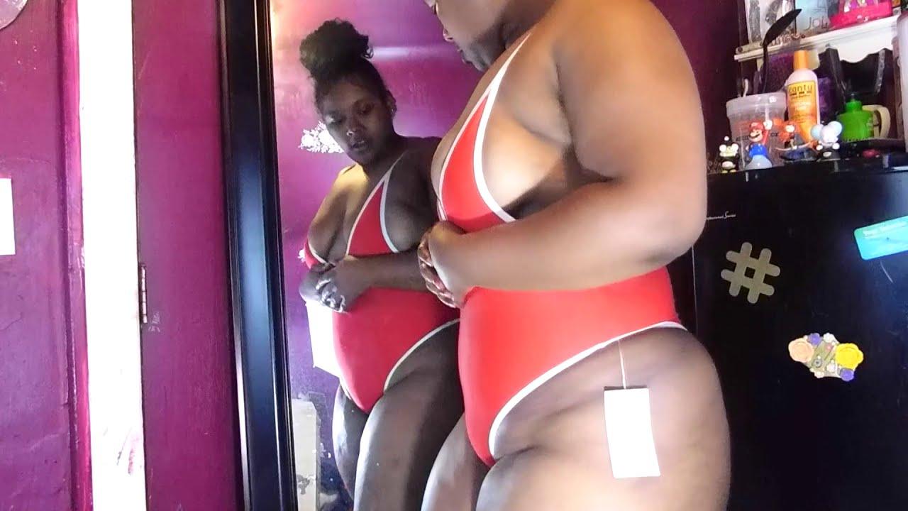 00018676c19 Plus Size Curvy ZAFUL Swimsuit Haul