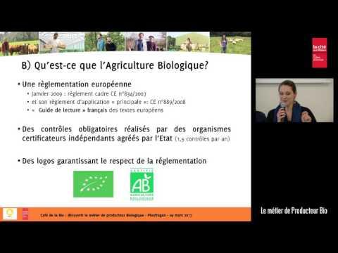 Le métier de Producteur Bio 1/3 : Présentation du GAB22