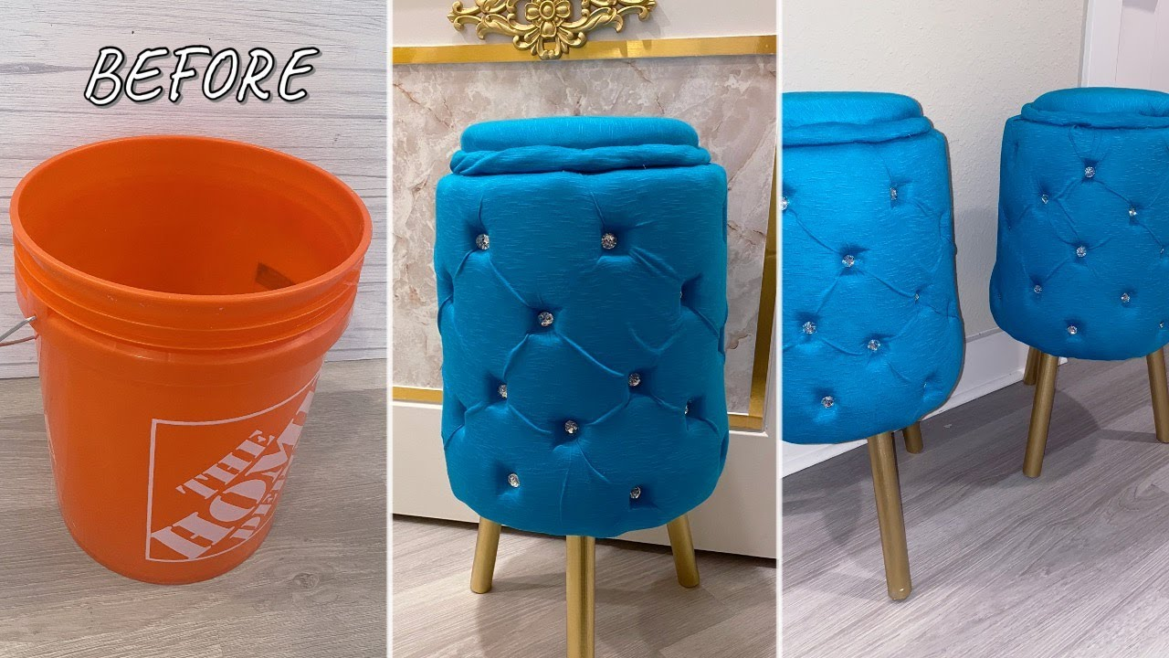 CLEVER REUSE OF PAINT BUCKETS IN THE HOME| PAINT BUCKET DIY