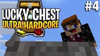 GRAVEL MISHAP! Minecraft Lucky Chest UHC #4