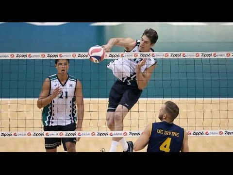 Hawaii Warrior Men Volleyball 2016 - #8 Hawaii Vs #14 UC Irvine