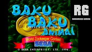 Baku Baku Animal : World Zookeeper Contest - Sega Saturn - Intro & Arcade Gameplay [720p]