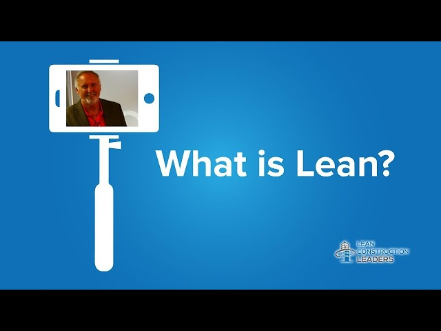 Perry Thompson - What is Lean?