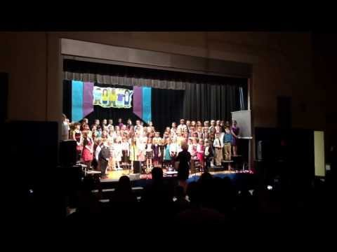 Blue mountain elementary school concert