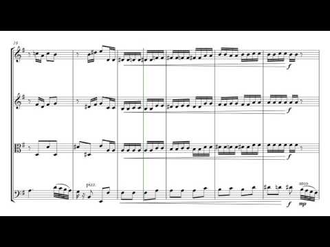 Tchaikovsky Dance Of The Sugar Plum Fairy | String Quartet Sheet Music
