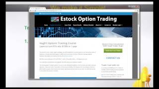 Intro to SPY Options Trading with  Estockoptiontrading