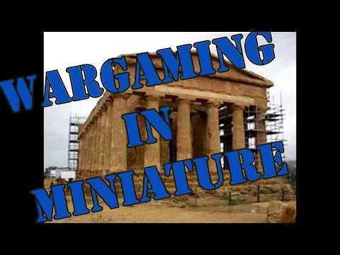 Wargaming in Miniature Building a 28mm Roman or Greek Temple Pt 1
