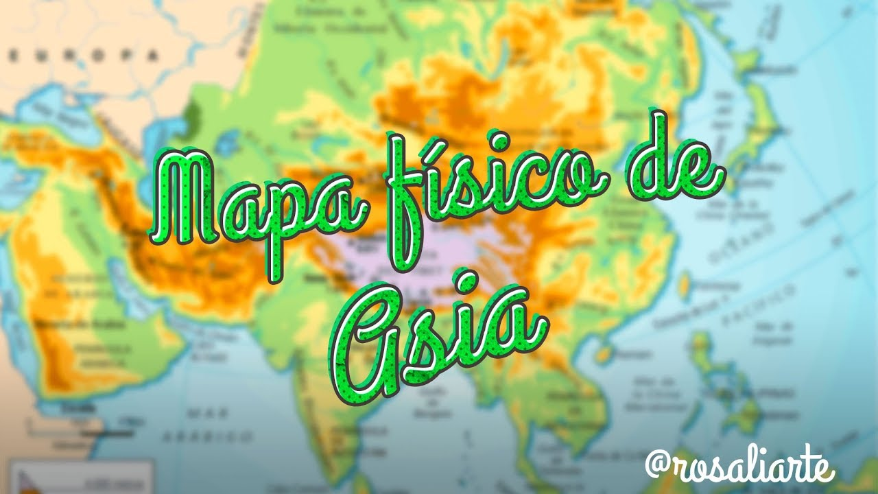 Mapa físico de Asia - 1º ESO on map of asia with asia, map of east asia only, mapa politica asia, lanzhou on a political map of asia, map of asia and america, 1940s map of europe and asia, map od asia, map of asia 2013, full map of asia, map of asia countries, whole map of asia,