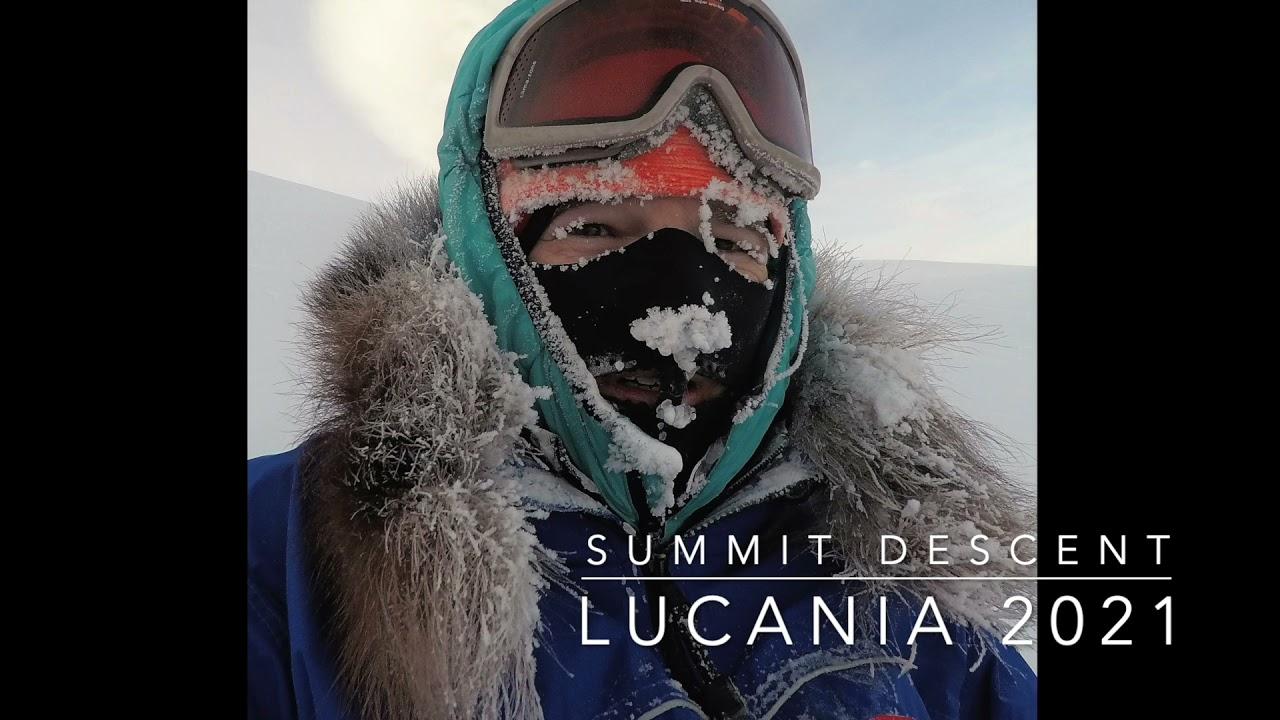 Lucania 2021: Summit Descent