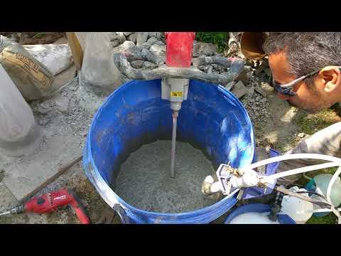 AirCrete Column  Foam Agent Test Part 1 of 2