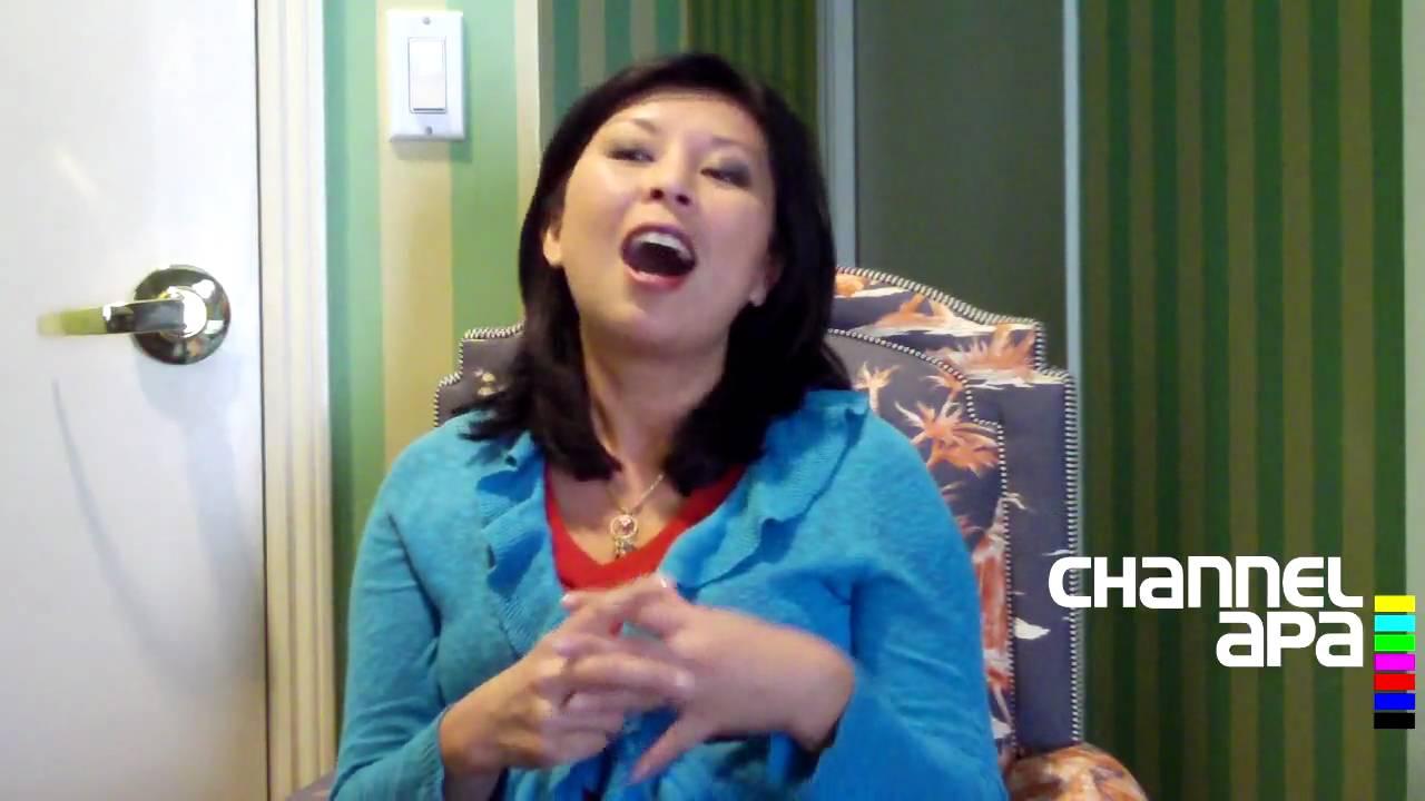 Jaden Hair of Steamy Kitchen Interview with channelAPA.com (Part 1 ...