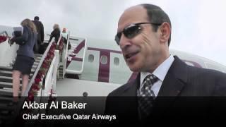 A walk through Qatar Airways brand new 787 dreamliner