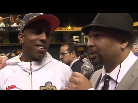 Sports-Hop Interview with Denver Broncos WR Andre Caldwell during Superbowl 50