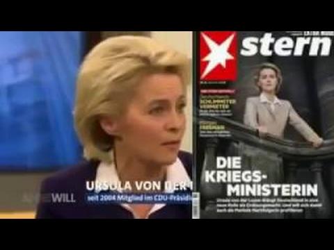 DEUTSCHLAND wird von IRREN regiert Die Flüchtlings PRODUKTION von Angela Merkel von der Le